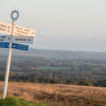 The Cotswolds cycle signage
